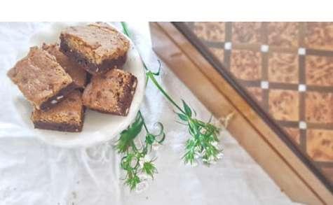 Brookie au chocolat... un Cookie et un Brownie ... en une bouchée