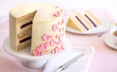 Layer cake aux cerises