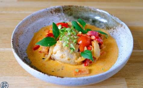 Curry de poulet, coco, citron