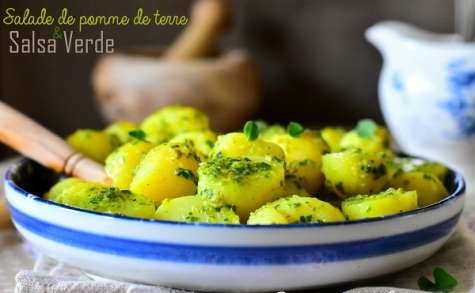 Salade de pomme de terre à la salsa verte