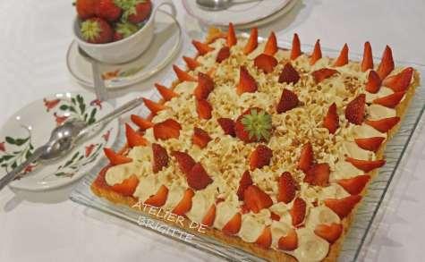 Le fantastik fraises et pistaches