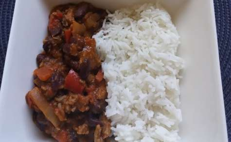 Chili con carne au Cookeo Weight Watchers