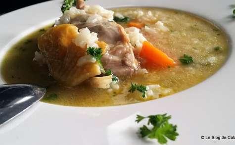 Canja (bouillon de poulet au riz)/ Cap Vert