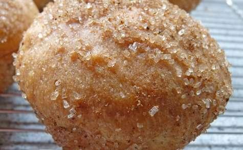 Petites brioches au sucre et aux épices (vegan)