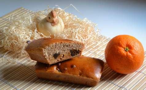 Petits pains d'épices à l'orange et aux figues