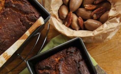 cake moelleux à l'orange et aux noix de pécan