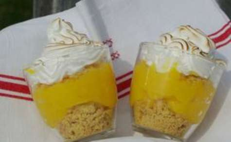 Tarte citron meringuée revisitée