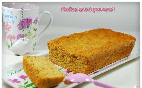 Moelleux à la farine de Kamut ou farine ordinaire, compote et fromage blanc 0%