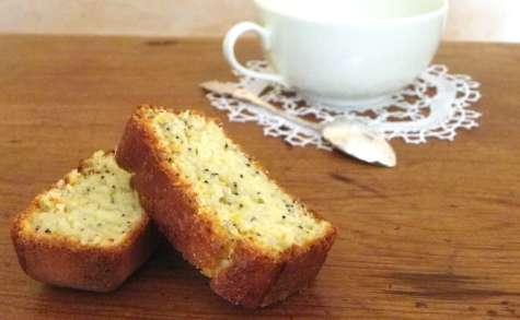 Le fameux cake au citron et graines de pavot