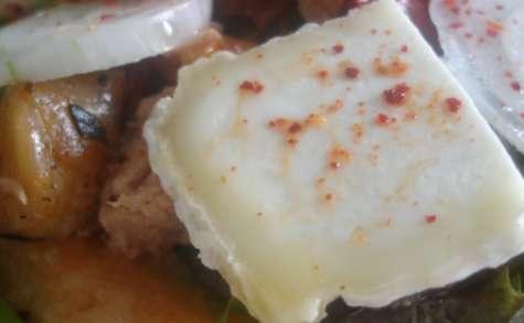 Tartelette printanière au chèvre frais