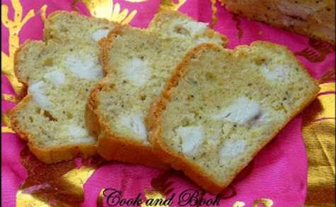 Cake à la dinde, crème de coco et curry