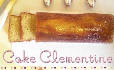 Cake à la clémentine