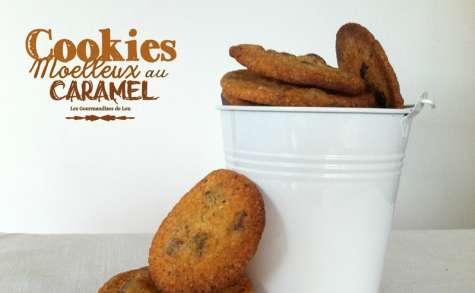 Cookies moelleux au caramel