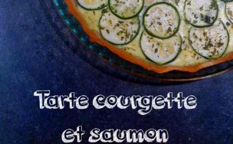 Tarte courgette et saumon