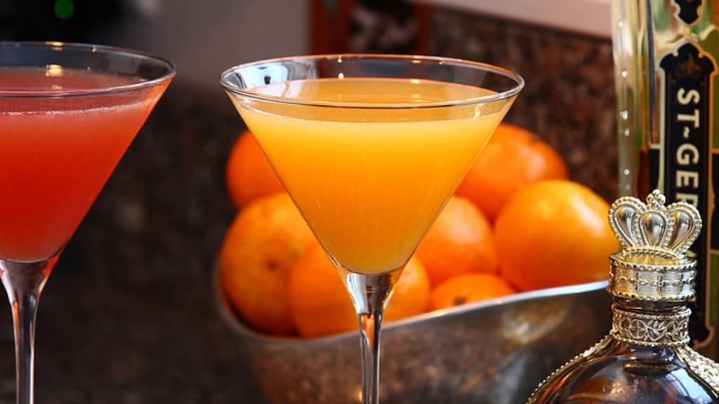 Verres de cocktails
