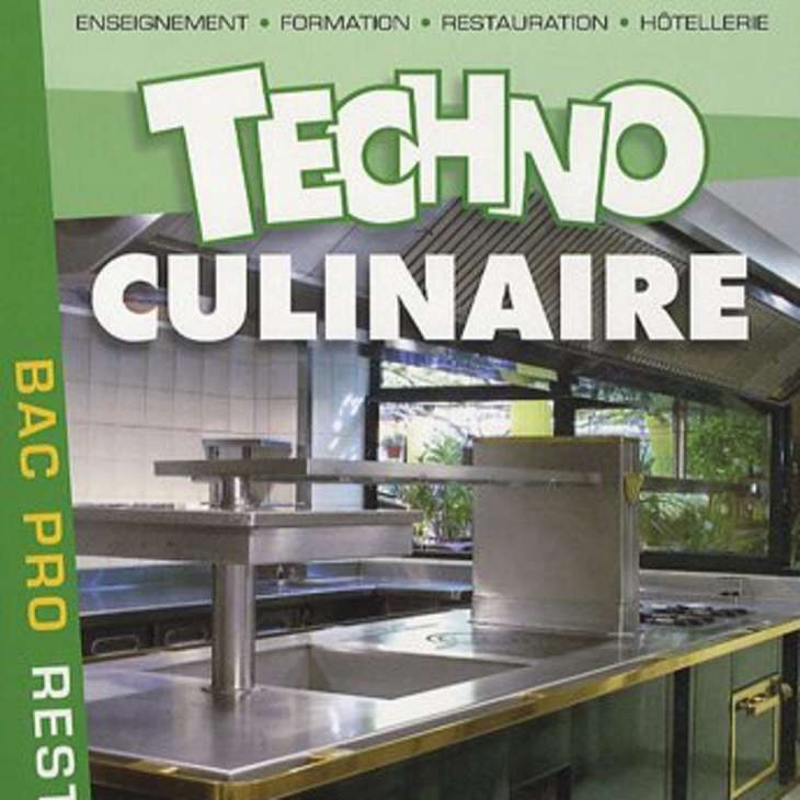 Techno culinaire bac pro restauration
