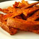 Frites de patates douces épicées