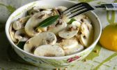 Le champignon de paris est au menu du jour
