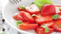 Salade de fraises au cubèbe