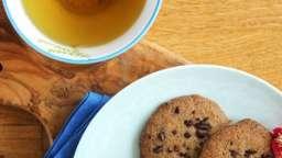 Biscuits sablés aux pépites de cacao