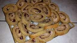 Roulé pain d'épices au foie gras et confiture de figues