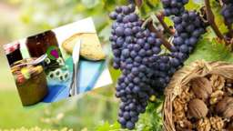 Confiture de raisins noirs aux noix