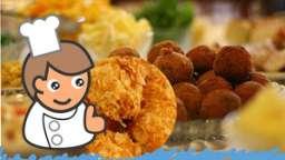 Croquettes de poulet cuites au four