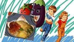 "Mini pizza ""muffin pan mania pizza"" aux légumes, son d'avoine"