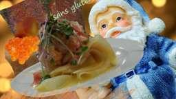 Terrine de mousse de saumon fumé aux épices