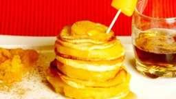 Burger de pommes pamplemousse