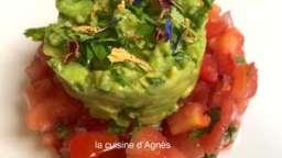 tartare de tomates au guacamole