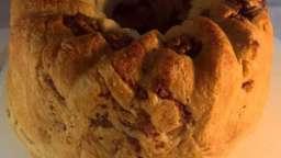 Kouglof aux lardon et aux noix