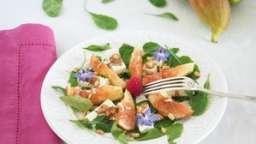 Salade de figues fraîches