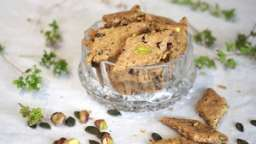 Biscuit apéro maison végétal et facile