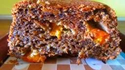 Cake moelleux (sucré) courgette, noix, carottes et abricots
