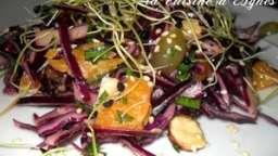 salade chou rouge croquante et vitaminée
