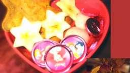 Bento spécial fêtes : un goûter, ambiance mannele, Barbie ou Car's