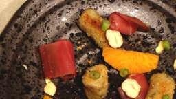 Gnocchi de Topinambour Beurre de Mandarine