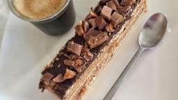 Gâteau de biscuits café nutella