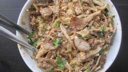 Salade de pleurotes et noix