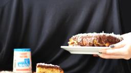 Le Gâteau au yaourt Malo, noix de coco et chocolat
