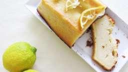 Cake citron et thé noir