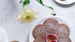Biscuits au sarrasin, pavot et sirop de violette