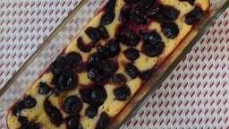 Gâteau de semoule aux cerises