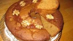 Gâteau de miel, cannelle et noix