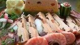 Terrine de poisson 3 couleurs - La cuisson