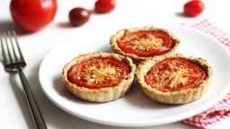 Tartelettes à la tomate et à l'aubergine