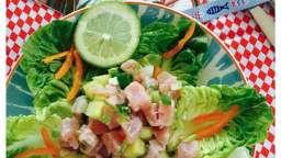 Salade de thon en tartare