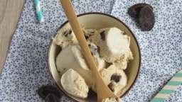 Crème glacée au beurre de cacahuète et pépites de chocolat