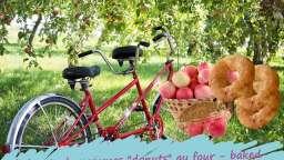 """Beignets aux pommes """"donuts"""" cuits au four"""
